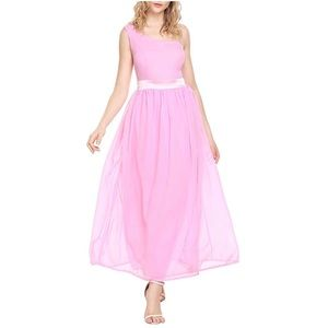 🔥30%OFF🔥 EUC Angvns pink one strap dress size L